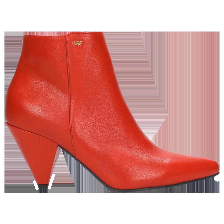 b5d038ba Czerwone damskie botki 8644-55 | Sklep online Wojas.pl