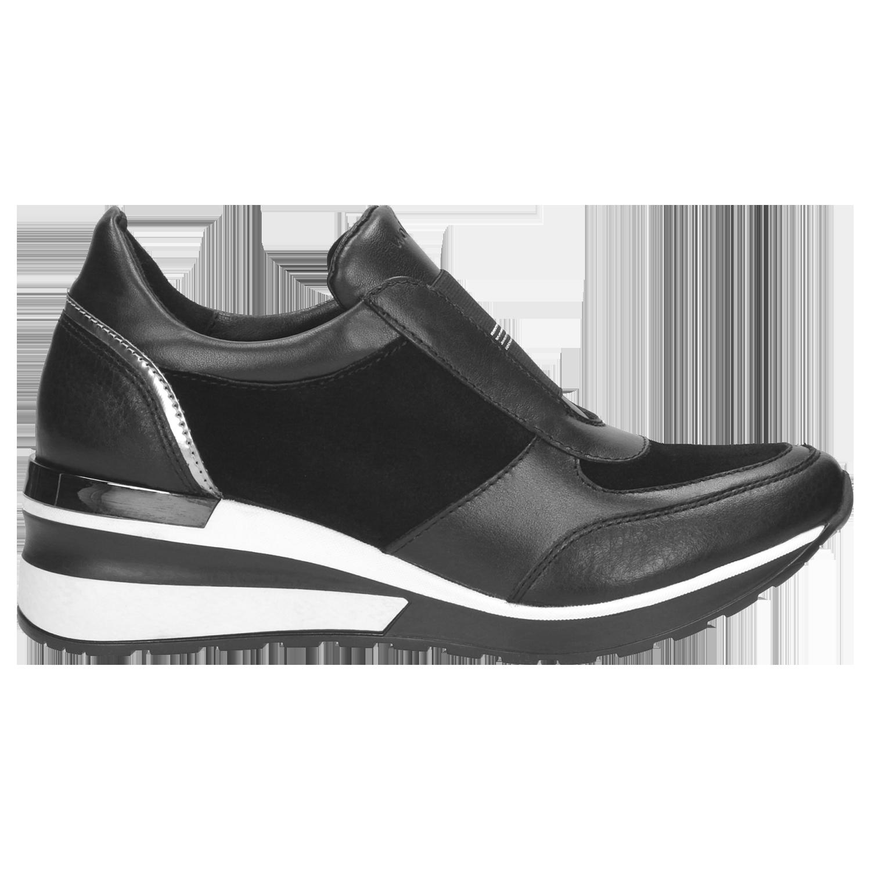2cbc5342b1827 Sportowe czarne półbuty damskie 9419-71 | Sklep online Wojas.pl