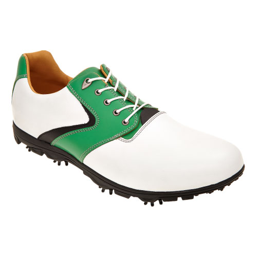 Zielone męskie półbuty golfowe 2900-57