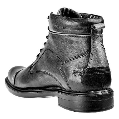 Czarne męskie trzewiki 4297-51