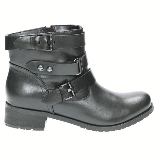 f279c8f2 Czarne damskie botki 5643-51 | Sklep online Wojas.pl