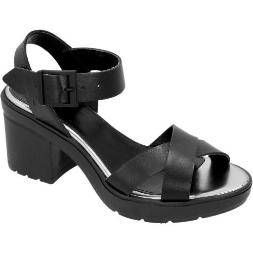 Czarne damskie sandały 6779-51