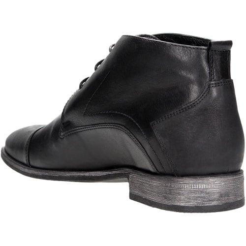 Czarne męskie trzewiki 6206-51