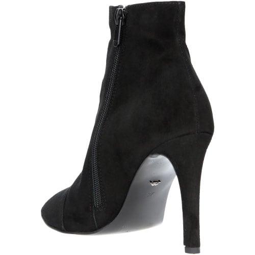 Czarne damskie botki 7551-61