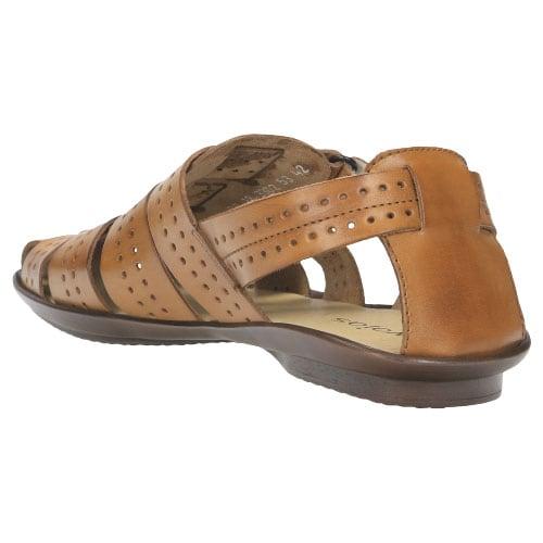 Jasnobrązowe męskie sandały 3302-53