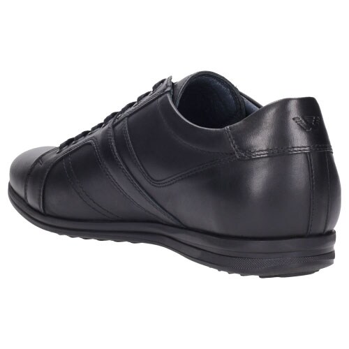 Czarne komfortowe półbuty męskie idealne na  co dzień 8075-51