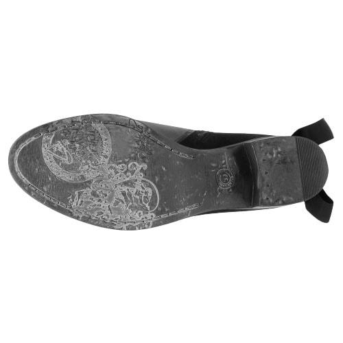 Czarne botki damskie 8569-71