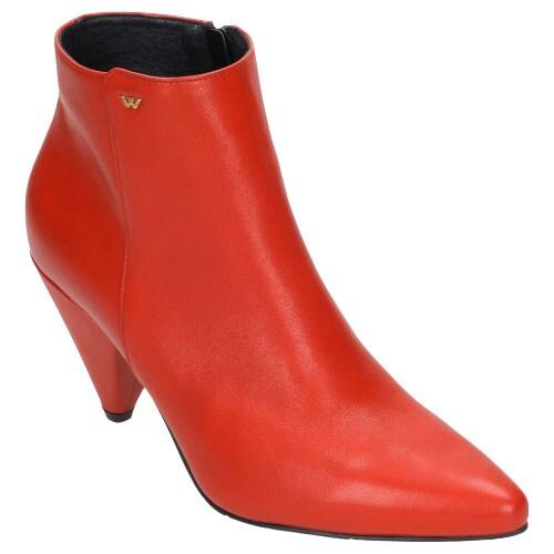 Czerwone damskie botki 8644-55