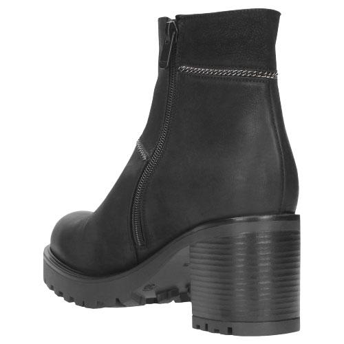 Czarne botki damskie 8589-51