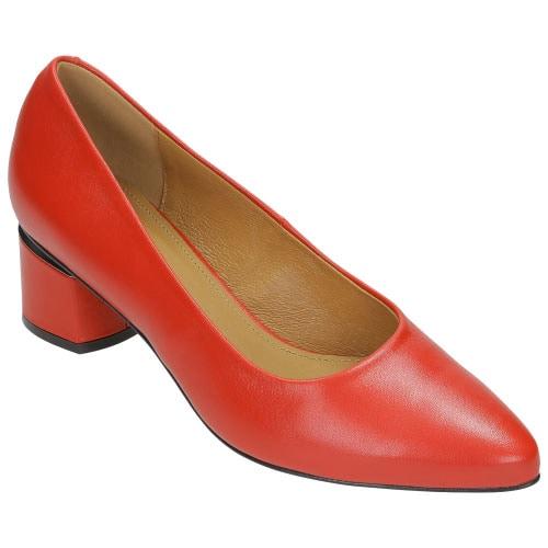 Czerwone czółenka damskie 8399-55