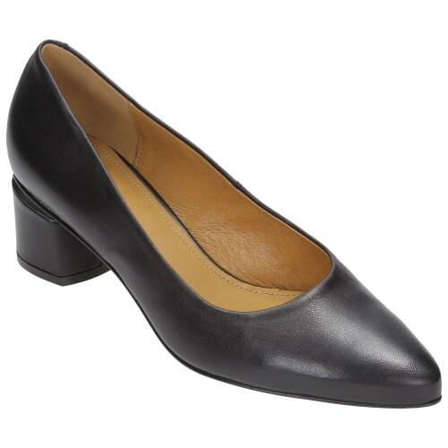 Czarne czółenka damskie 8399-51