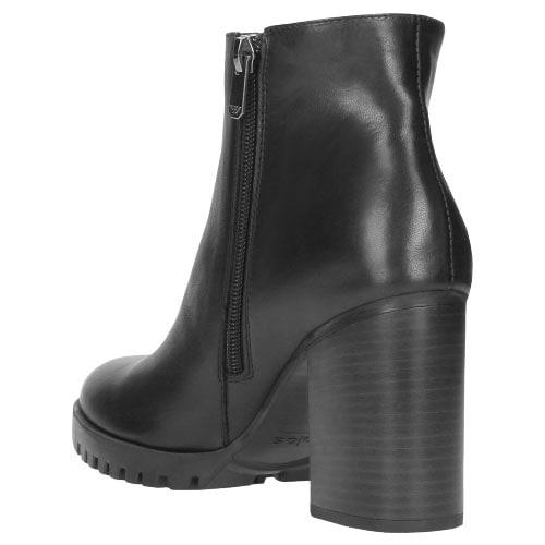 Czarne botki damskie 8592-51