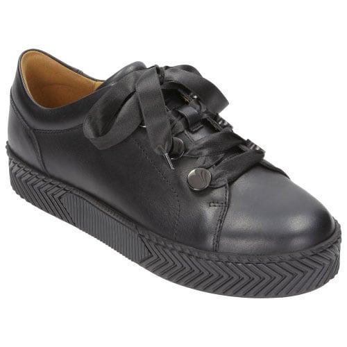 Czarne damskie trampki 8538-51