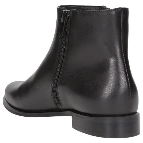Czarne botki damskie 8585-51