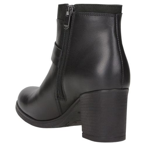 Czarne damskie botki 8622-51