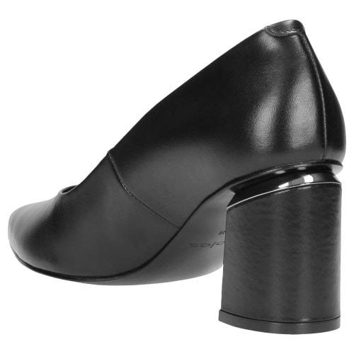Czarne czółenka damskie 9358-51