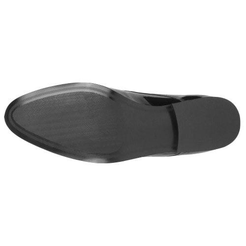 Czarne męskie półbuty 9005-31