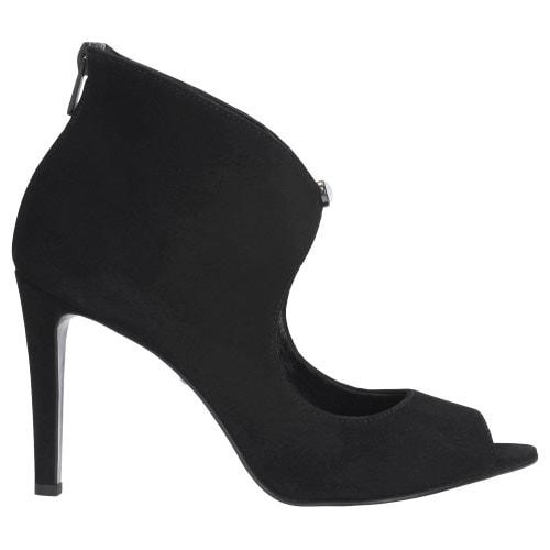Czarne damskie botki 9551-61
