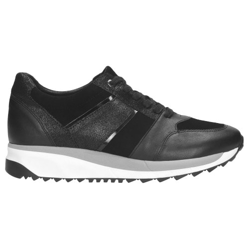 Sportowe  czarne półbuty damskie 9421-71
