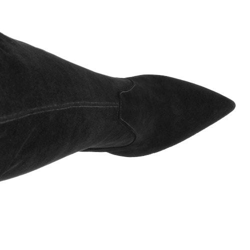 Czarne kozaki damskie 8744-61