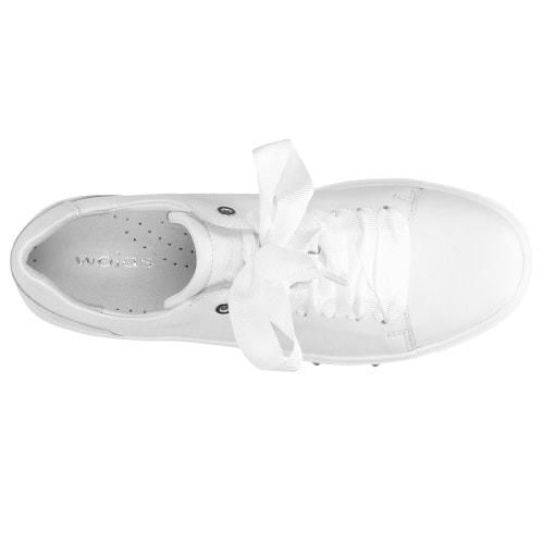 Damskie białe półbuty 8537-50