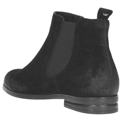 Czarne damskie botki 9503-21
