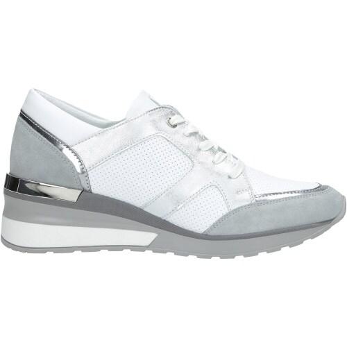 Sportowe białe półbuty damskie 8473-59