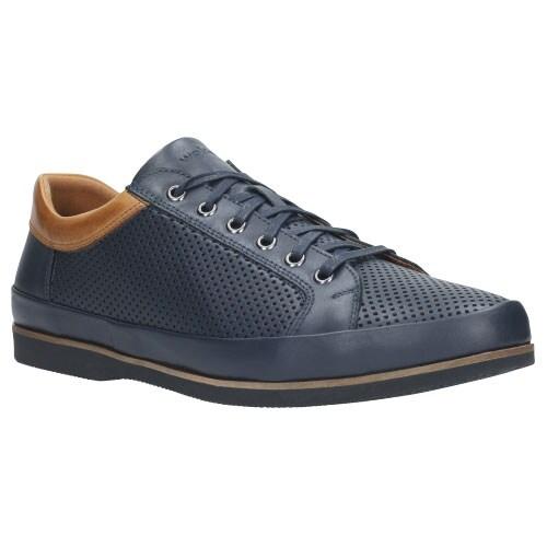 Granatowe męskie buty 9047-56