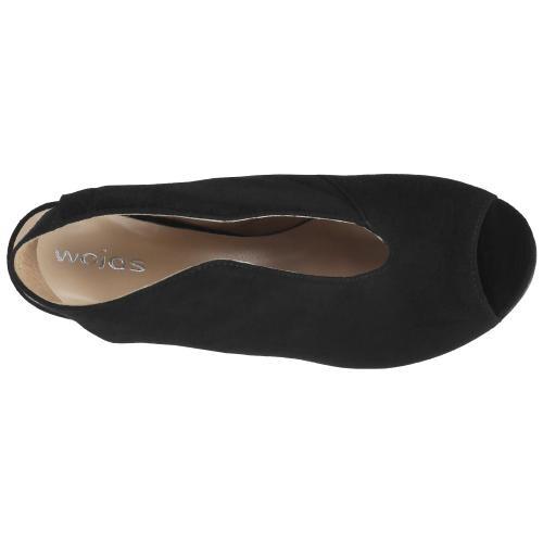 Czarne sandały damskie 9729-61