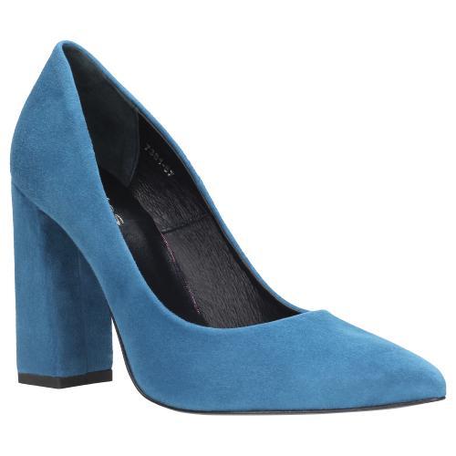 Niebieskie czółenka damskie 7381-67