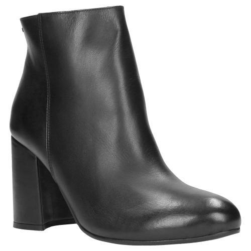 Czarne botki damskie 8609-51
