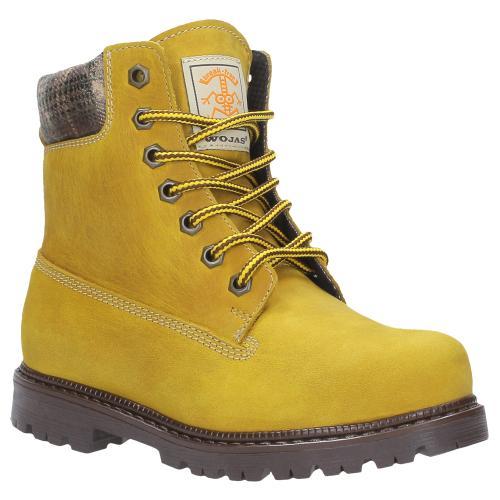 Żółte trzewiki dziecięce 8700-98