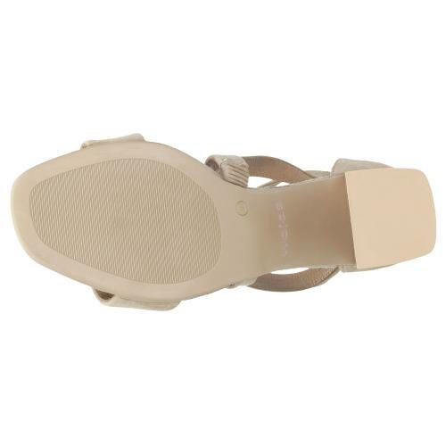 Beżowe sandały damskie 9737-64
