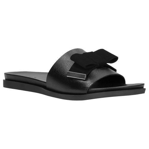 Czarne klapki damskie 8764-71