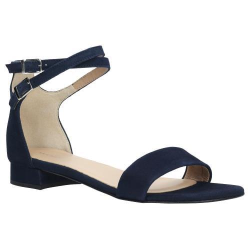 Granatowe sandały damskie 9724-66