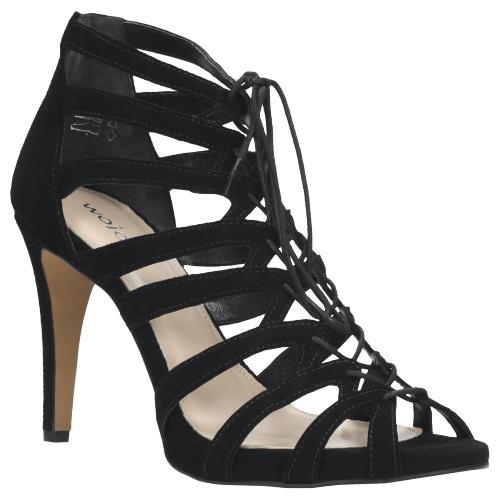 Czarne sandały damskie 7809-61