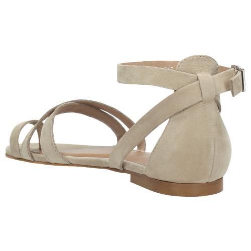 Beżowe sandały damskie 9726-24