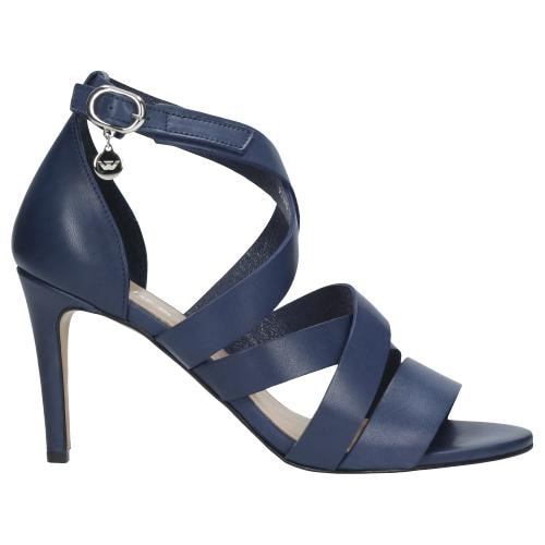 Granatowe sandały damskie 9740-56