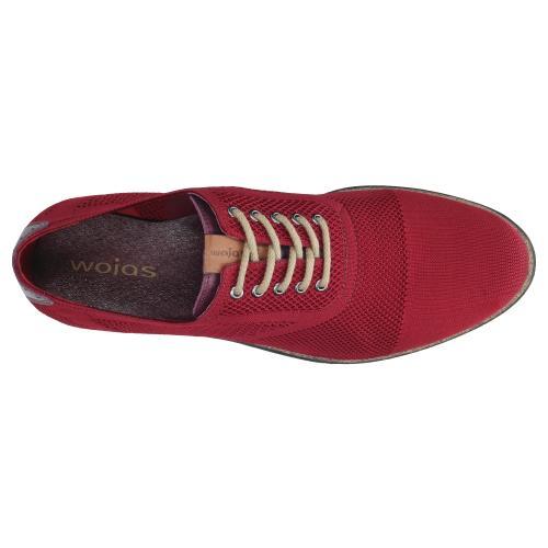 Czerwone półbuty męskie 9064-85