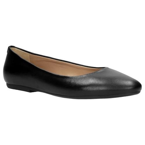 Czarne baleriny damskie 6420-81
