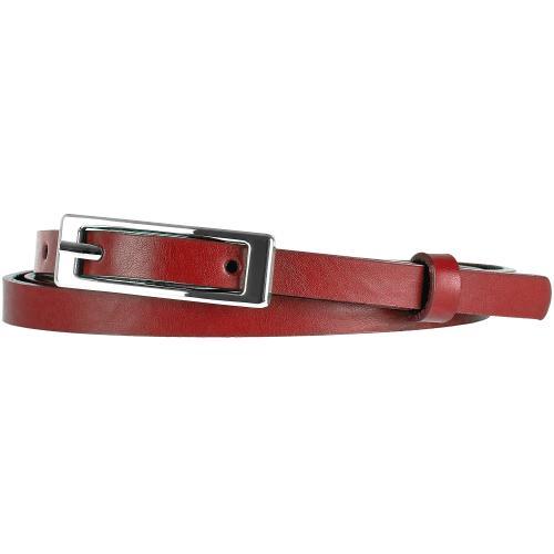 Czerwony pasek damski 9962-55