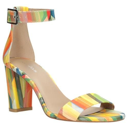 Multikolorowe sandały damskie 8832-55