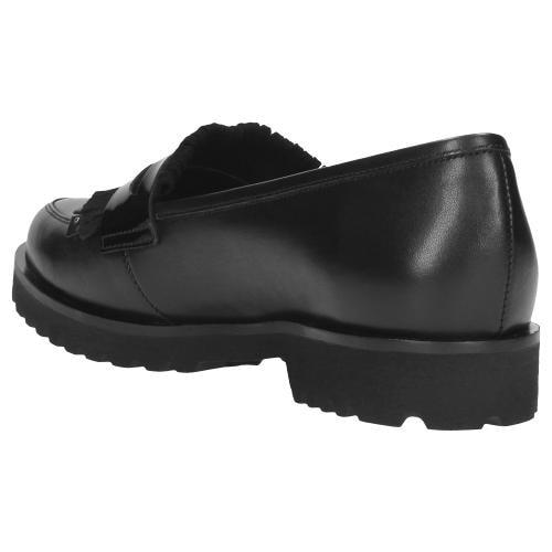 Czarne półbuty damskie 9486-71