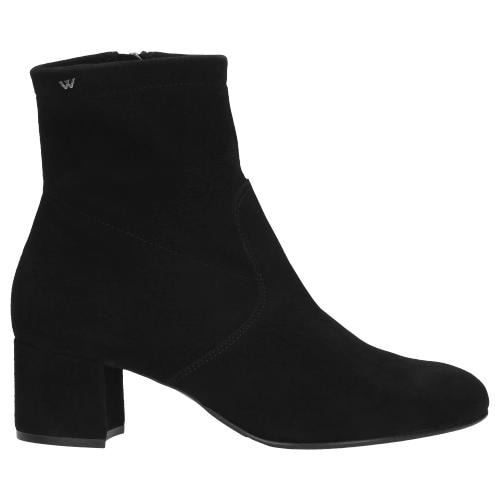 Czarne botki damskie 9518-21