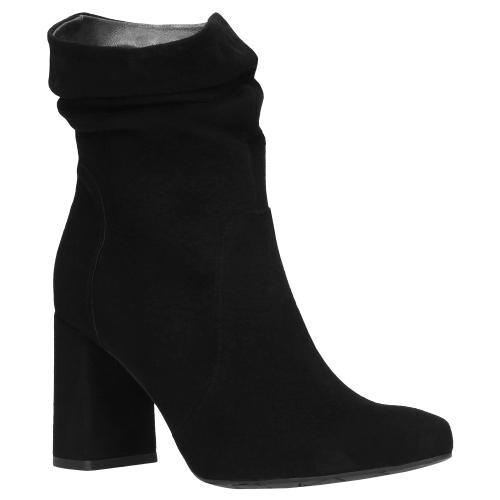 Czarne botki damskie 9553-61