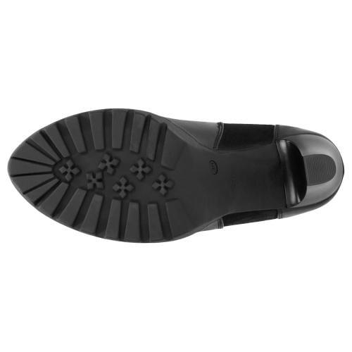 Czarne botki damskie 9534-71