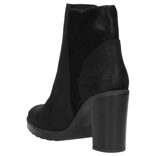 Czarne botki damskie 9575-81