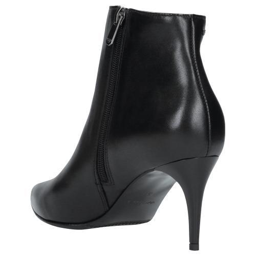 Czarne botki damskie 9531-51