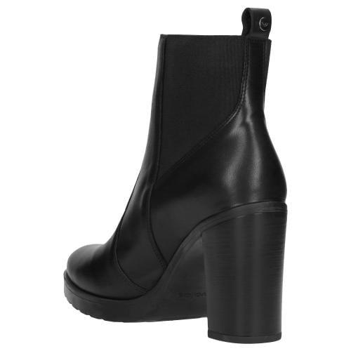 Czarne botki damskie 9539-51