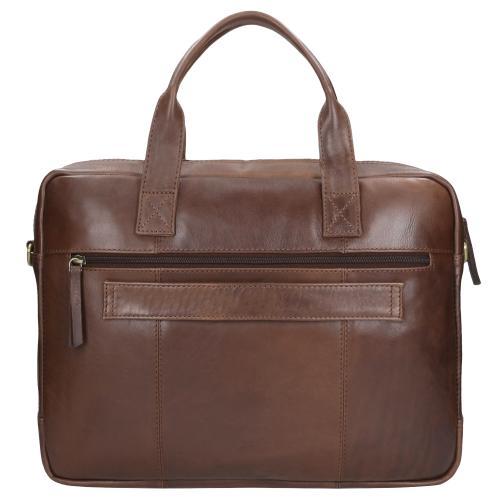 Brązowa torba męska 9831-52
